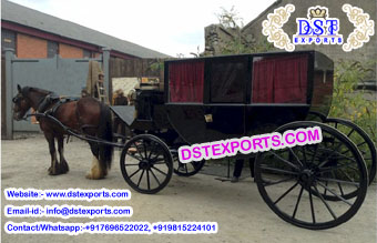 Black Box Type Horse Carriage