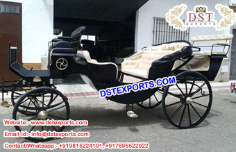 Black Landu Horse Carriages Maker