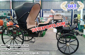 Black Wedding Victoria Horse Carriages Maker