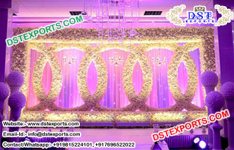 Buy Flower Wall Wedding Backdrop Stage