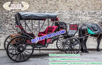 English Wedding Victoria Horse Buggy for Sale