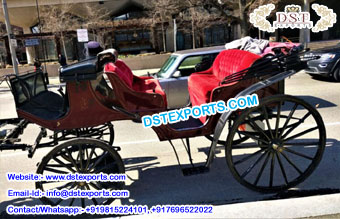Russian Victoria Horse Drawn Buggy