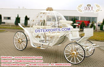 Exclusive Wedding Cindrella Carriage