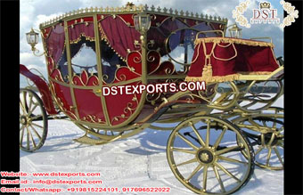 Newly design presidential Horse Carriage