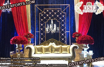 Elegant Candle Wall Back-Stage Decoration