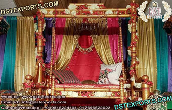 Beautiful Handcrafted Two Seater Sankheda Swing