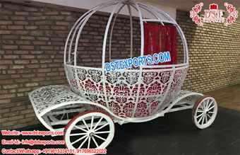 Cinderella Buggy For English Wedding