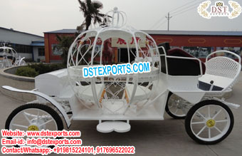 Best Wedding Cinderella Pumpkin Horse Carriage