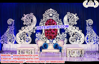 Latest Design Wedding Stage Paisley Props