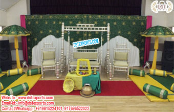 Muslim Mehndi Theme Stage Swing Norway