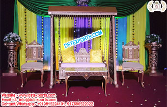 Stylish Arabian Theme Wedding Swing Set