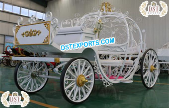 Princess Horse Drawn Cinderella Carriage