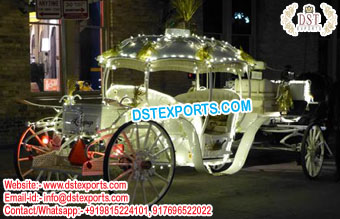Princess Cinderella Carriage With LED lighted