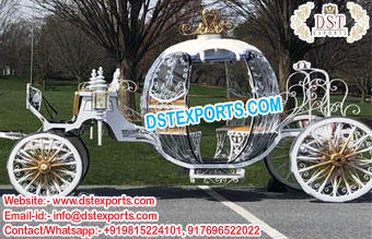 Luxury Princess Wedding Horse Carriage